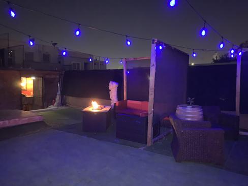 Cabana at Night