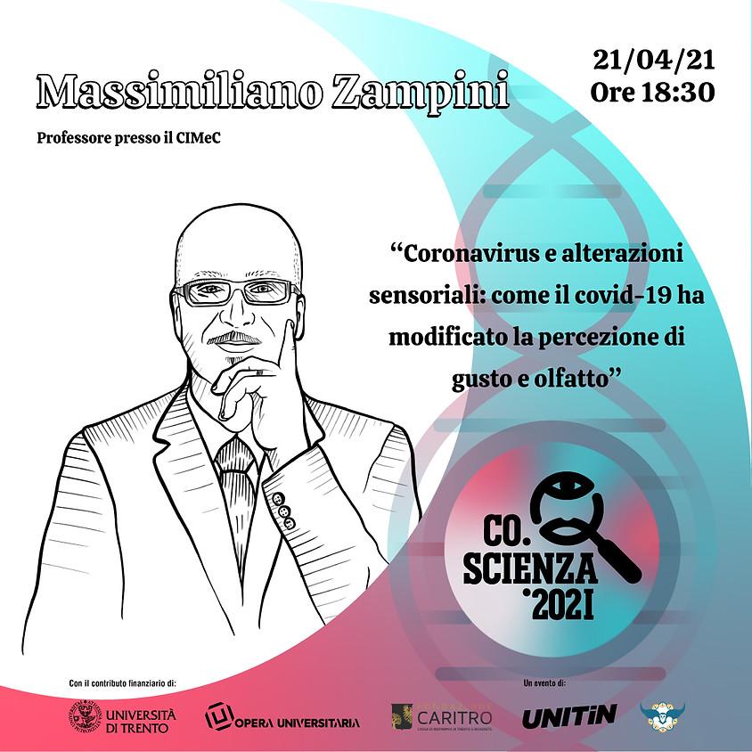 Coronavirus e alterazioni sensoriali con Massimiliano Zampini