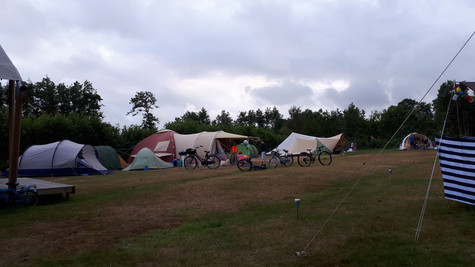 Douchen op de camping
