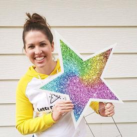 Rachel with star.jpg