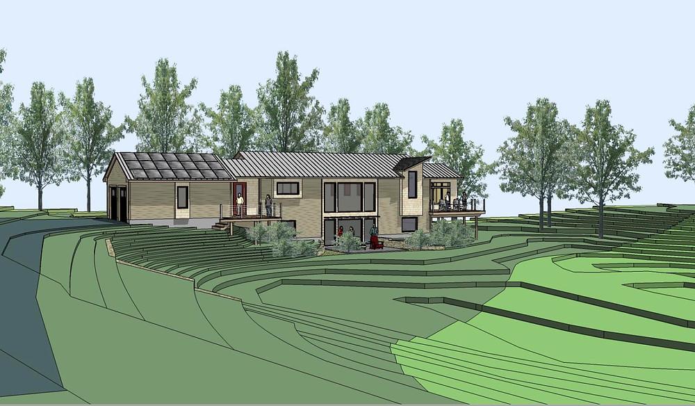 passive house, sustainable landscape
