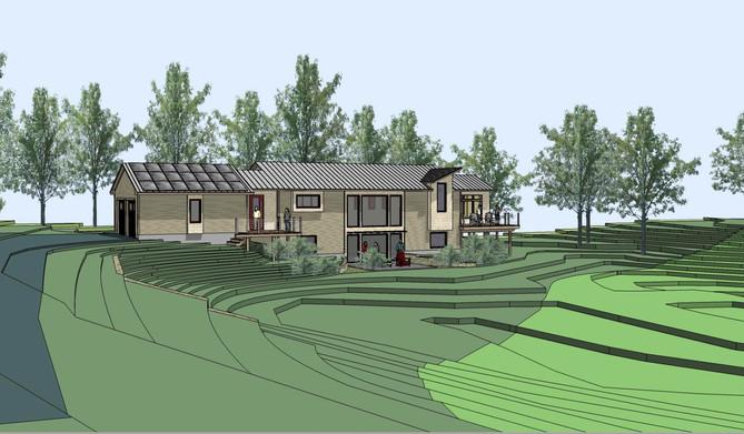 Passive house, active landscape