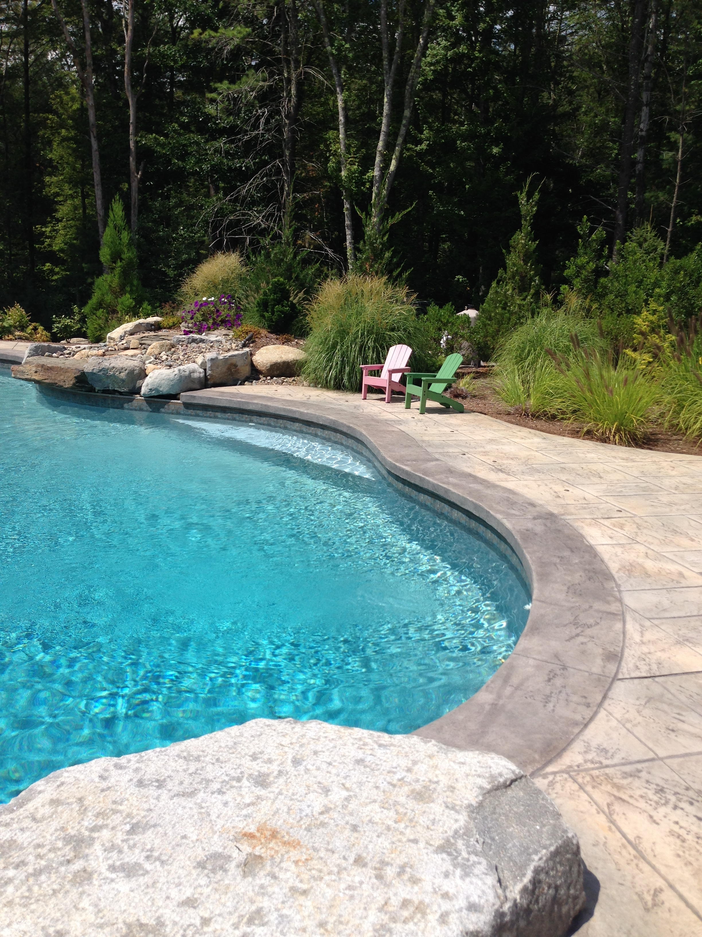 naturalistic pool design