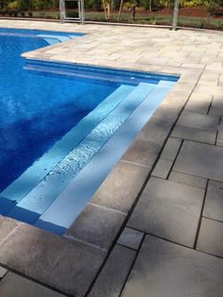 elegant pool entry