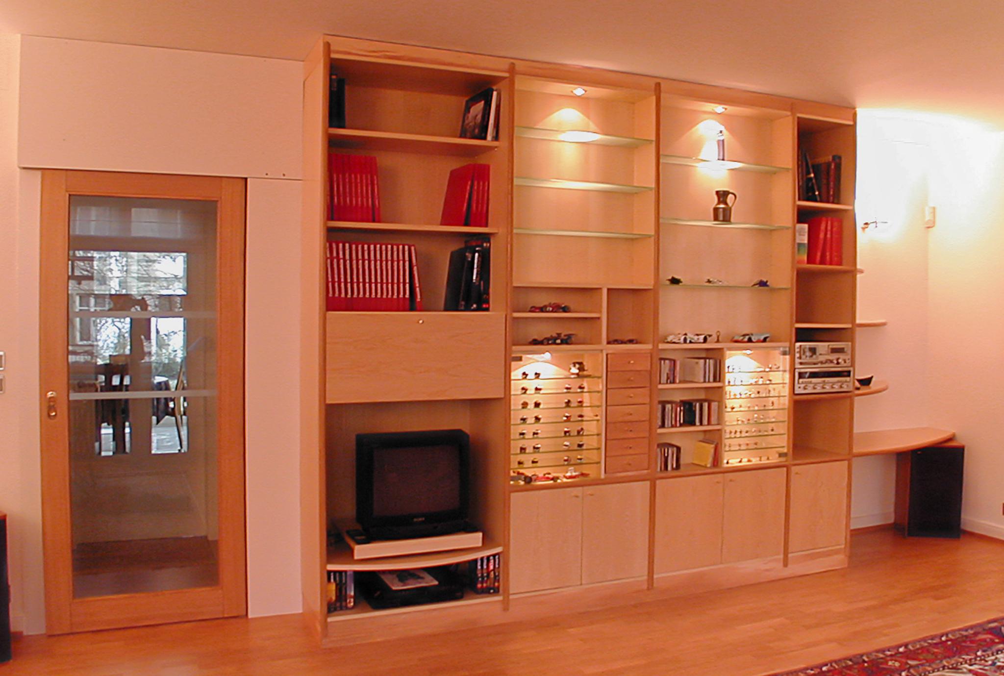 Meuble TV éclairage intégré