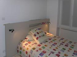 tête de lit niche
