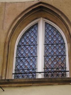 Fenêtre ogivale à cives