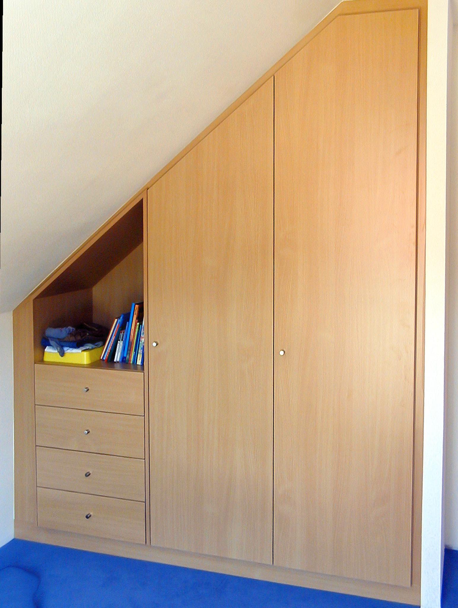 armoire sous rampant