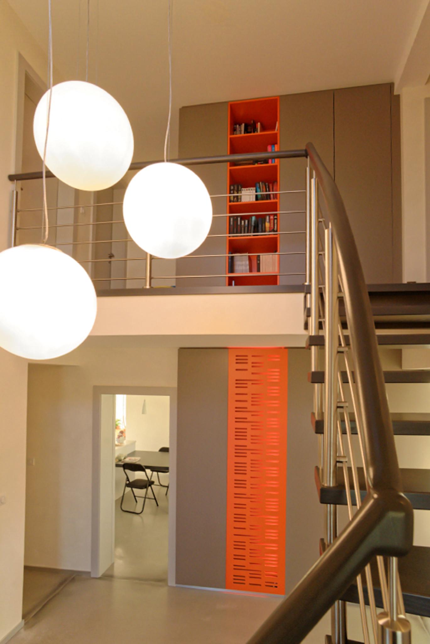 Placards coordonnés sur 2 étages