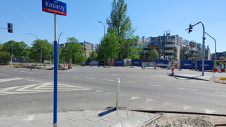 Zakończenie przebudowy skrzyżowania kolejny raz opóźnione