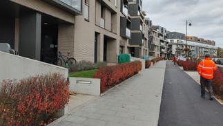 Nowa ścieżka rowerowa na Sarmackiej