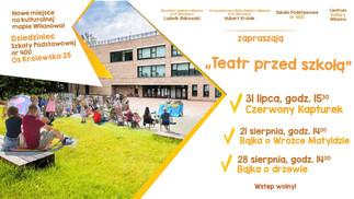 Rozkwit teatrów plenerowych w Wilanowie