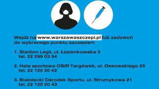 Warszawa rozpoczyna powszechne szczepienia
