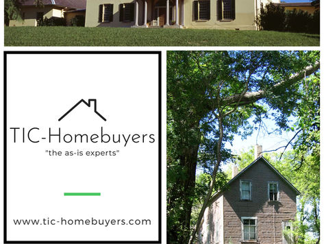 We specialize in buying your property.