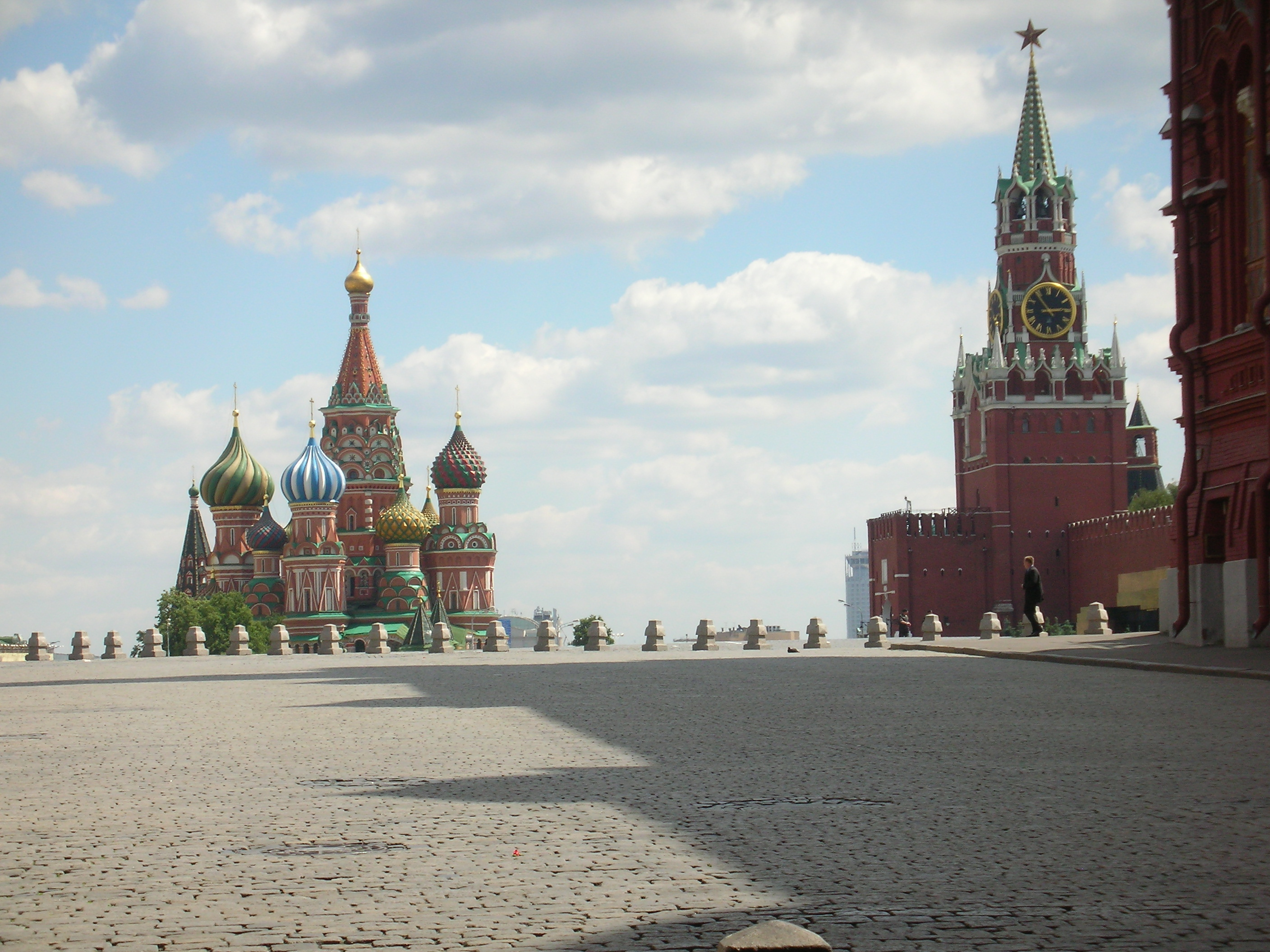 (Empty) Red Square Moscow