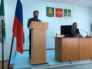 Директор РЦ Альтернатива был приглашен на заседание антинаркотической комиссии Лунинского района