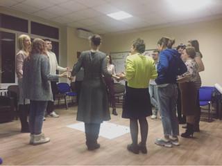 Встреча клуба «Молодой психолог». Работа с личностными границами арт-терапевтическими методами