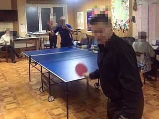 "Чемпионат на теннису в реабилитационном центре ""Альтернатива"""