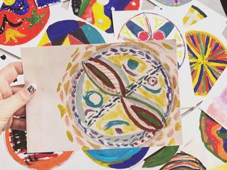 Тренинг «Рисунок мандалы» в реабилитационном центре «Альтернатива»
