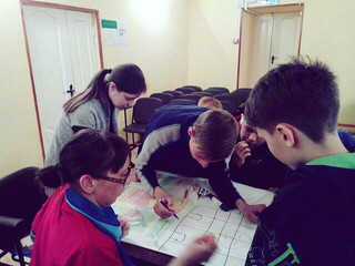 Игра «Социальные сети» в Спасском доме-интернате