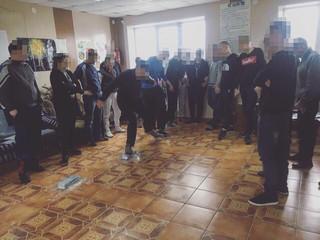 Тренинг на командообразование «Болото» в реабилитационном центре «Альтернатива»