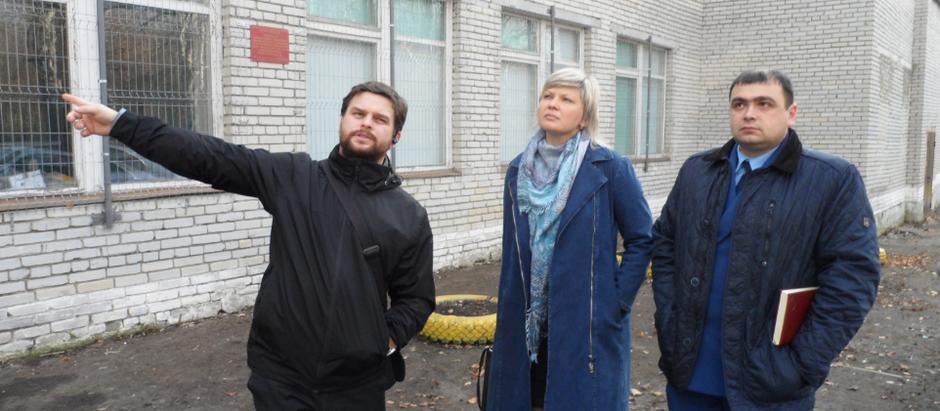 Представители прокуратуры  Лунинского района посетили объект в селе Михайловка, в котором...