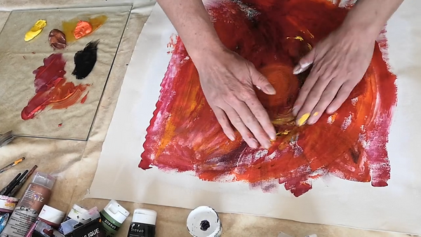 intuitive painting with nicky peet