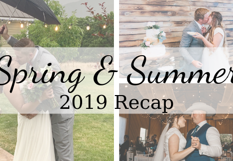 Spring & Summer Weddings Recap 2019