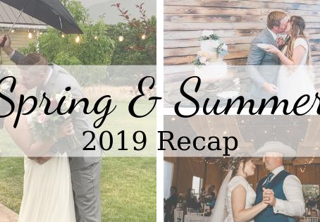 Spring & Summer Weddings Recap 2019