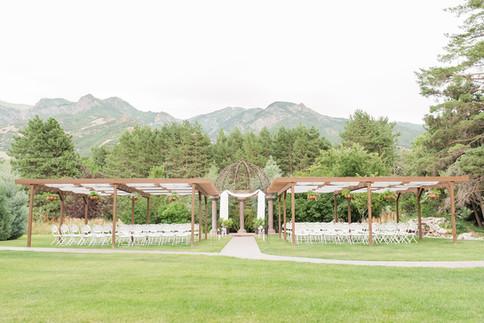 Garden Ceremony Site