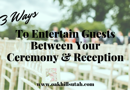 Three Fun Ways to Entertain Guests Between Your Ceremony and Reception