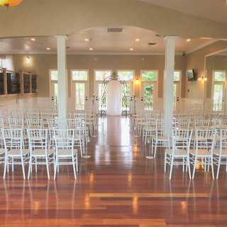 Ceremony in the Ballroom at Oak Hills Reception and Event Center