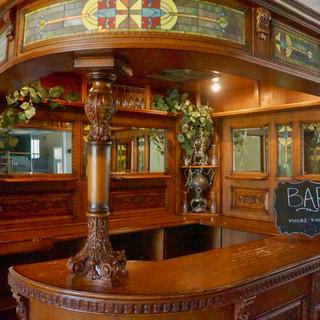 Antique Bar at Oak Hills Reception and Event Center