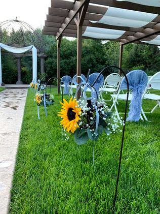 Ceremony Lantern Flowers