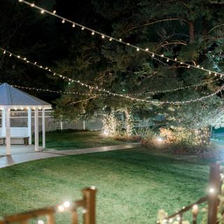 Ballroom Back Lawn at Night