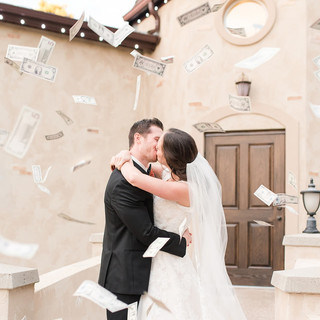 Traditional Italian Wedding Send Off at Oak Hills Reception and Event Center