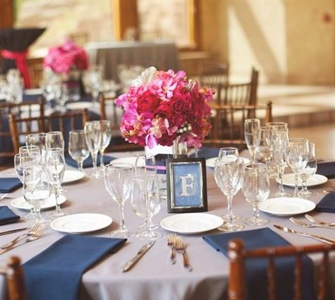 Table Setting with Matching Napkins