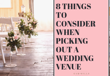 Wedding Planning Tip #1: Pick Your Venue