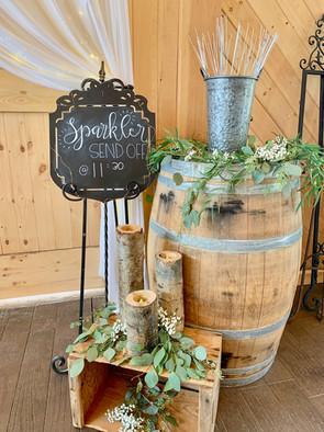 Barrel for Sparklers