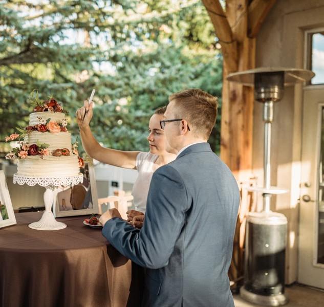 Cake Cutting on the Ballroom Deck