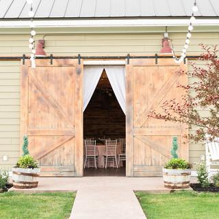 Oak Hills Reception and Event CenterBarn Entrance