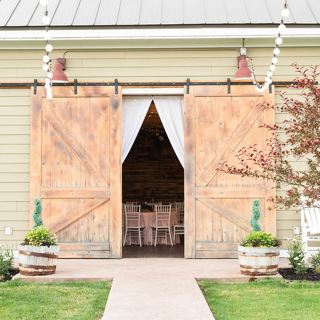 Oak Hills Reception and Event CenterBarn Entrance