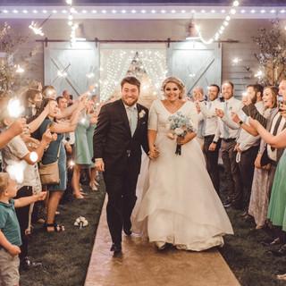Newlywed Sendoff at Oak Hills Reception and Event Center