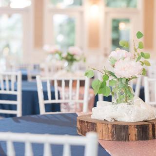 Ballroom Centerpiece Idea at Oak Hills Reception and Event Center