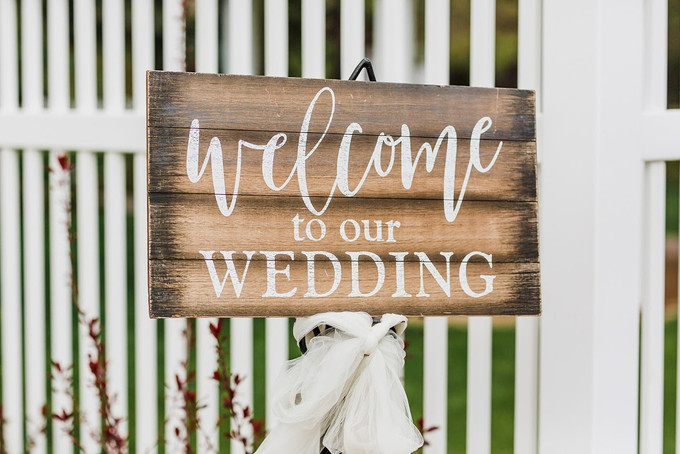 Welcome Wedding Signs