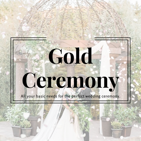 Gold Ceremony Package