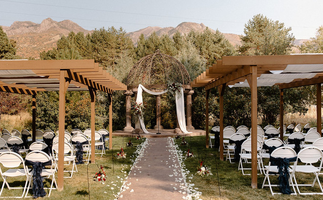 Ceremony Site at Oak Hills Reception and Event Center