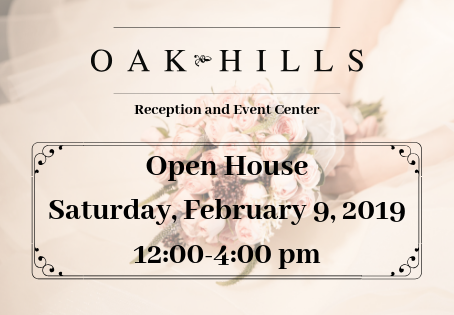 2019 Oak Hills Reception And Event Center Open House