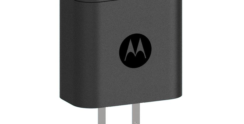Cargador de Pared Carga Rápida Tipo C Motorola 18W