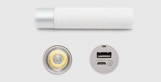 Xiaomi Powerbank con Linterna (3250Mah)
